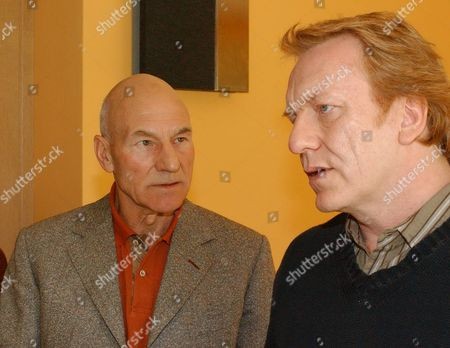 Patrick Stewart and Clive Wood in 'Eleventh Hour' - 2006