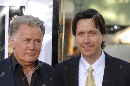 Martin Sheen with son Ramon Estevez