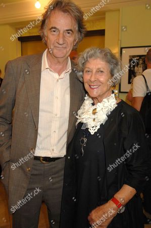Stock Picture of Paul Smith and Joan Burnstein (Owner of Browns Fashion Shop in South Molton Street)