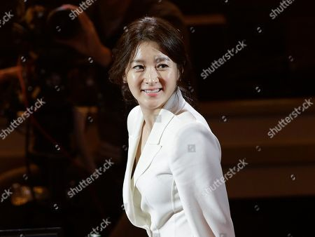 Lee Young-ae South Korean actress Lee Young-ae arrives to judge the 2015 Miss Korea Contest in Seoul, South Korea