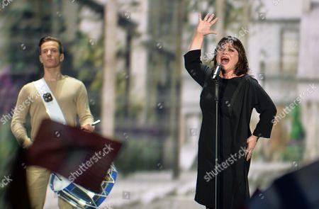 Editorial photo of Austria Eurovision Song Competition, Vienna, Austria