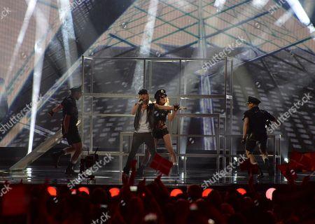 Editorial photo of Austria Eurovision Song Contest, Vienna, Austria