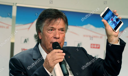 Peter Schroecksnadel Peter Schroecksnadel, president of the Austrian ski federation, speaks during a press conference in Vienna, Austria, where he announced that ski racer Anna Fenninger remains part of the national team after the overall World Cup champion agreed to live by the federation's sponsorship regulations