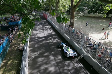 Editorial picture of Britain London EPrix Auto Racing, London, United Kingdom