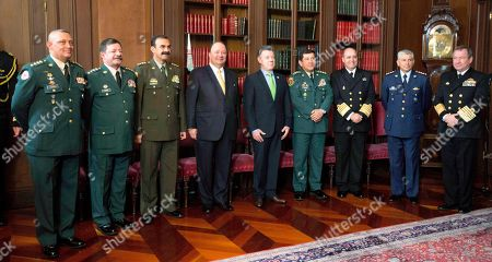Editorial photo of Colombia Defense Minister, Bogota, Colombia
