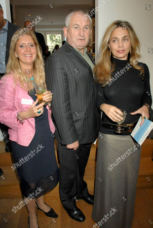 Eva Hamilton, John Bird and Jeanne Marine