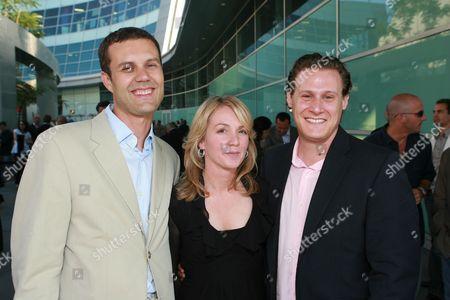 Nick Osborne, Writer Kim Barker &  Trevor Engelson