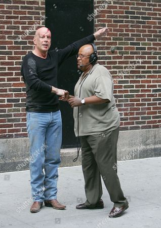Stock Picture of Bruce Willis and Biff Henderson