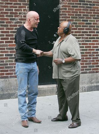 Bruce Willis and Biff Henderson