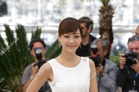 Actress Hsieh Hsin-Ying poses for photographers during a photo call for the film Nie Yinniang (The Assassin), at the 68th international film festival, Cannes, southern France