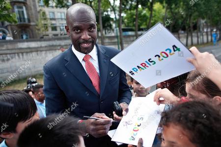 Editorial photo of France Paris 2024 Bid, Paris, France