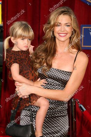 Denise Richards and daughter Sam J. Sheen