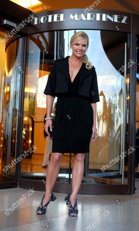 Sonia Kruger at Hotel Martinez