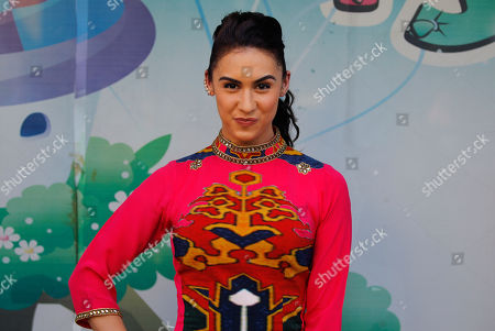 "Lauren Gottlieb Bollywood actor Lauren Gottlieb attends a promotional event for her upcoming movie ""Welcome to Karachi"" in New Delhi, India, . The film is scheduled to be released on May 29"