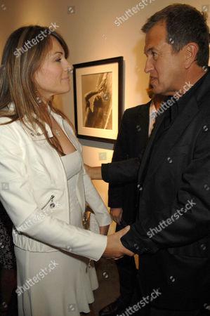 Elizabeth Hurley and Mario Testino