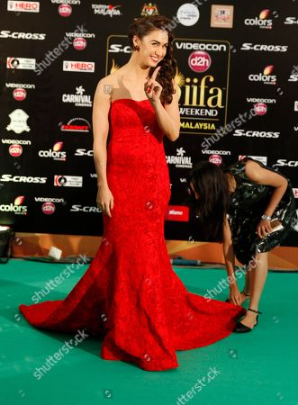 Stock Image of Lauren Gottlieb Bollywood actress Lauren Gottlieb poses on the green carpet at the International Indian Film Academy (IIFA) awards in Kuala Lumpur, Malaysia, . The three day event concludes Sunday