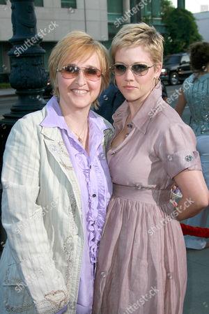 Stock Image of Melissa Etheridge and Tammy Lynn Michaels