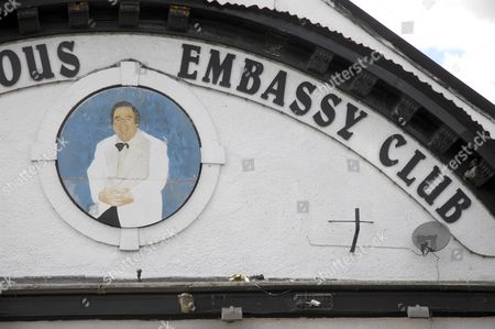 Picture of Bernard outside the World Famous Embassy Club