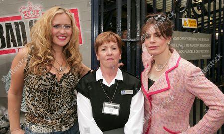 Nicole Faraday, Helen Fraser and Sally Dexter