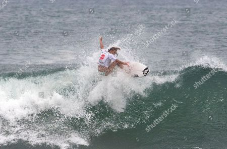 Stock Image of Tia Blanco U.S. Tia Blanco surfs during the final of the Nicaragua Unica Original World Surfing Games ISA championship in Tola, Nicaragua