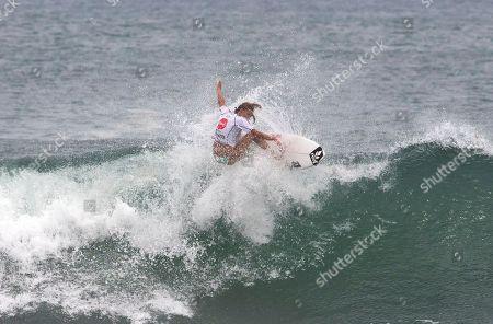 Tia Blanco U.S. Tia Blanco surfs during the final of the Nicaragua Unica Original World Surfing Games ISA championship in Tola, Nicaragua