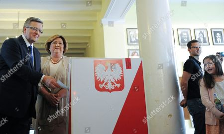 Editorial image of Poland Presidential Election, Warsaw, Poland