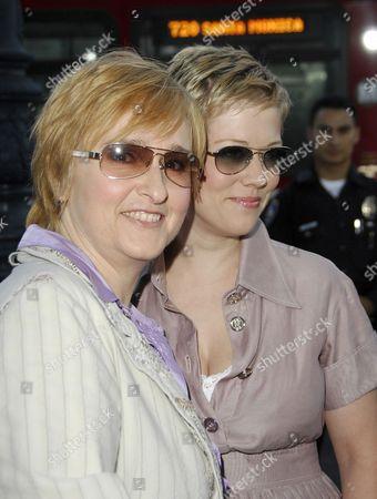 Stock Photo of Melissa Etheridge and Tammy Lynn Michaels