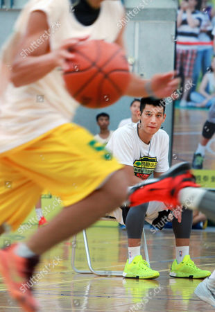 Jeremy Lin Former Los Angeles Lakers' Jeremy Lin watches while he holds a short basketball clinic with young Taiwanese players in Taipei, Taiwan, . Lin is in Taiwan to attend a charity event and basketball clinics for young athletes