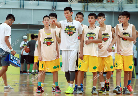 Jeremy Lin Former Los Angeles Lakers' Jeremy Lin, center, gives instructions while he holds a short basketball clinic with young Taiwanese players in Taipei, Taiwan, . Lin is in Taiwan to attend a charity event and basketball clinics for young athletes