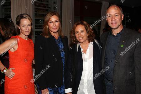 Mary Stuart Masterson, Maria Cuomo Cole (Producer), Kim A Snyder (Director) and Mark Barden