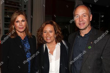 Maria Cuomo Cole (Producer), Kim A Snyder (Director) and Mark Barden