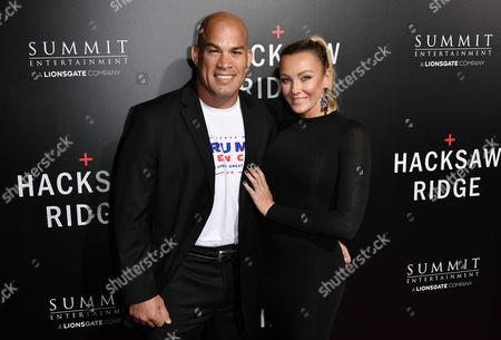 Tito Ortiz and Amber Nicole Miller