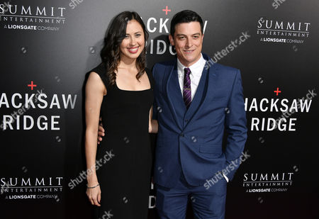 Stock Photo of James Mackay and guest