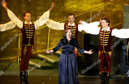 Stock Photo of Andrea Rost Andrea Rost and dancers of the Hungarian National Ballet perform with the Hungarian State Opera at United Nations headquarters, . The concert was presented on the occasion of United Nations Day, which celebrates the entry into force of the U.N. Charter in 1945