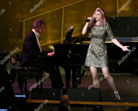 Oh Land Oh Land performs at United Nations headquarters, . The concert was presented on the occasion of United Nations Day, which celebrates the entry into force of the U.N. Charter in 1945