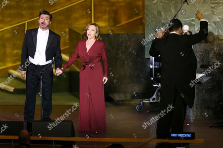 Boldizsar Laszlo, Andrea Rost Boldizsar Laszlo, left, and Andrea Rost perform with the Hungarian State Opera at United Nations headquarters, . The concert was presented on the occasion of United Nations Day, which celebrates the entry into force of the U.N. Charter in 1945