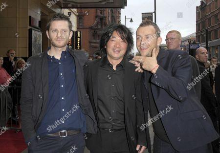 Jamie Hewlett, Chen Shi-Zheng and Damon Albarn