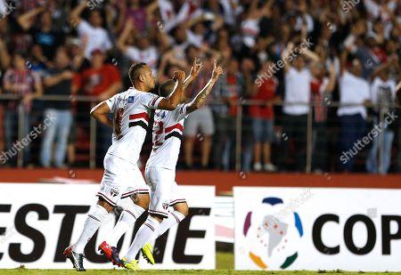 Editorial photo of Brazil Soccer Copa Libertadores, Sao Paulo, Brazil