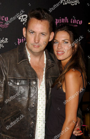 Harland Williams and friend