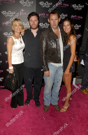 Kelly Carlson and Kevin Hearn with Harland Williams and friend