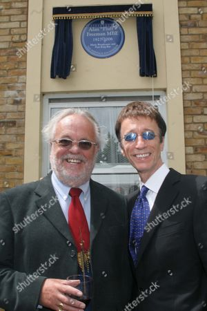 Philip Madoc and Robin Gibb.