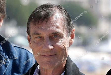"Two time Oscar nominated Director Roland Joffe, poses for photographers during the MIPTV, International Television Programme Market, in Cannes, southern France.He presents he brand new, epic tv series ""Texas Rising"
