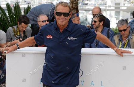 Producer Chad McQueen poses for photographers during a photo call for the film Steve McQueen: The Man & Le Mans, at the 68th international film festival, Cannes, southern France