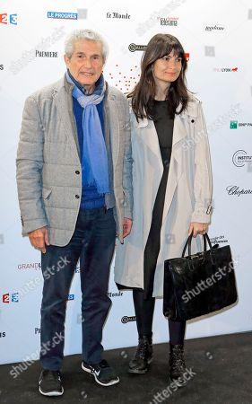 Editorial image of France Exhibition Cinema Des Lumieres, Paris, France
