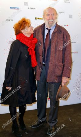 "French actor Jean pierre Marielle attends the photocall an exhibition ""Des Lumieres! Le Cinema Invente"" (some lights ! invented movies) in Paris, France"