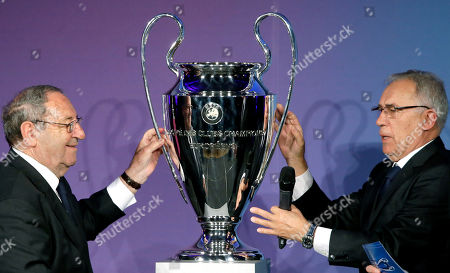 Editorial image of Germany Champions League Trophy, Berlin, Germany