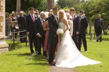 Michael Carrick and Lisa Roughead with their guests