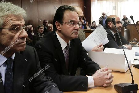 Editorial photo of Greece Ex Minister Trial, Athens, Greece
