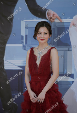 Charlene Choi Hong Kong actress Charlene Choi poses on the red carpet of the Hong Kong Film Awards in Hong Kong