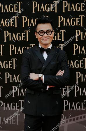 Gordon Lam Hong Kong actor Gordon Lam poses on the red carpet of the Hong Kong Film Awards in Hong Kong